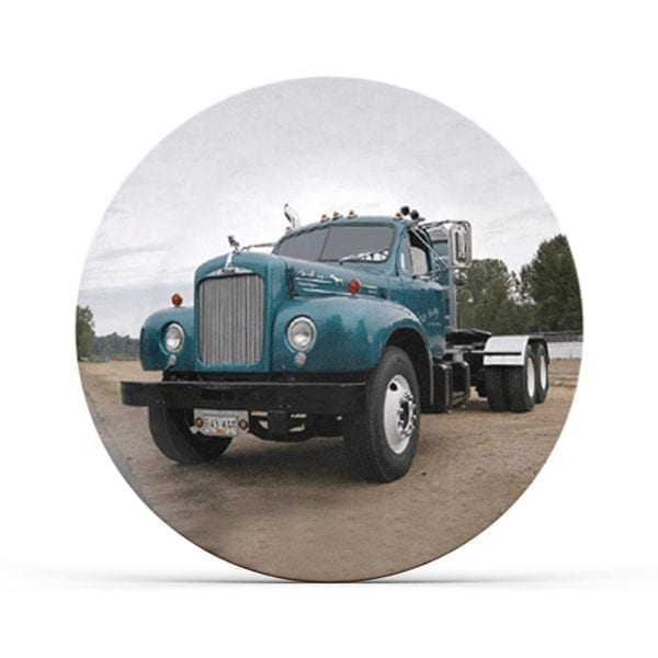 Collectable Big Rig Plate