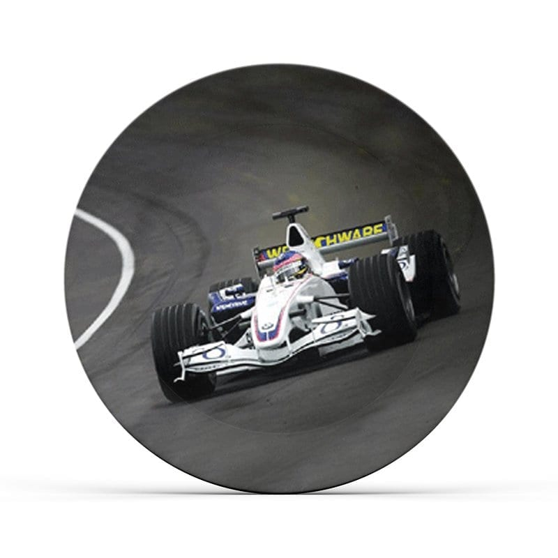 Formula 1 Race Plate