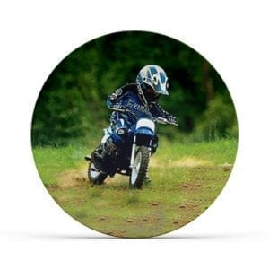 Collectable Kids Motorcross Plate