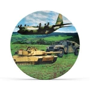Collectable Military Plate