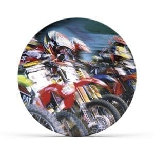 Motorcycle Race Plate