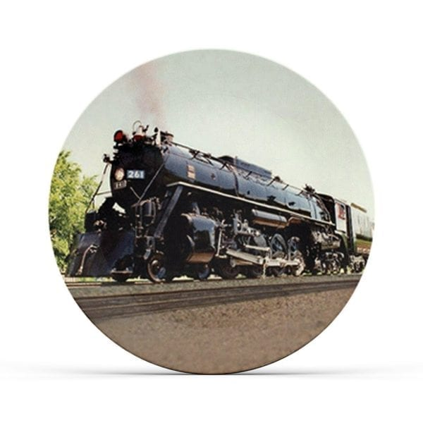 Collectable Steam Railroad Plate