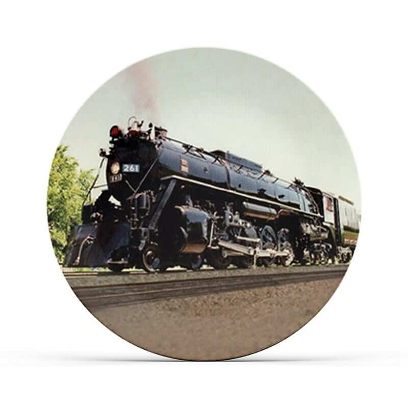 Steam Railroad Plate