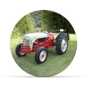 Collectable Tractor Plate