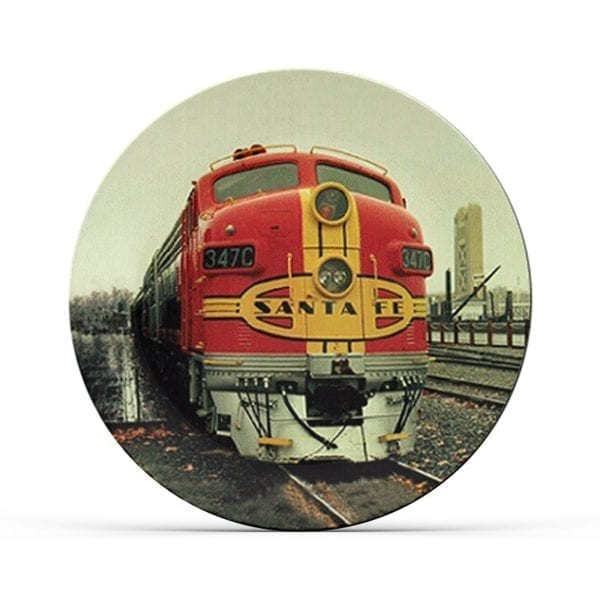 Collectable Train Plate